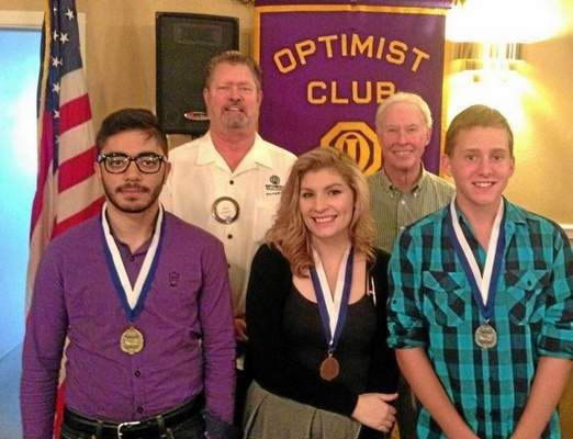"""optimist club essay contest winner The chilton optimist club presented the top three winners of the local 2018 optimist international essay contest on wednesday, march 7 with honorary medals and cash prizes this year's theme was """"can society function without respect"""" third place was earned by kaitlin merwin, 17, of chilton ."""