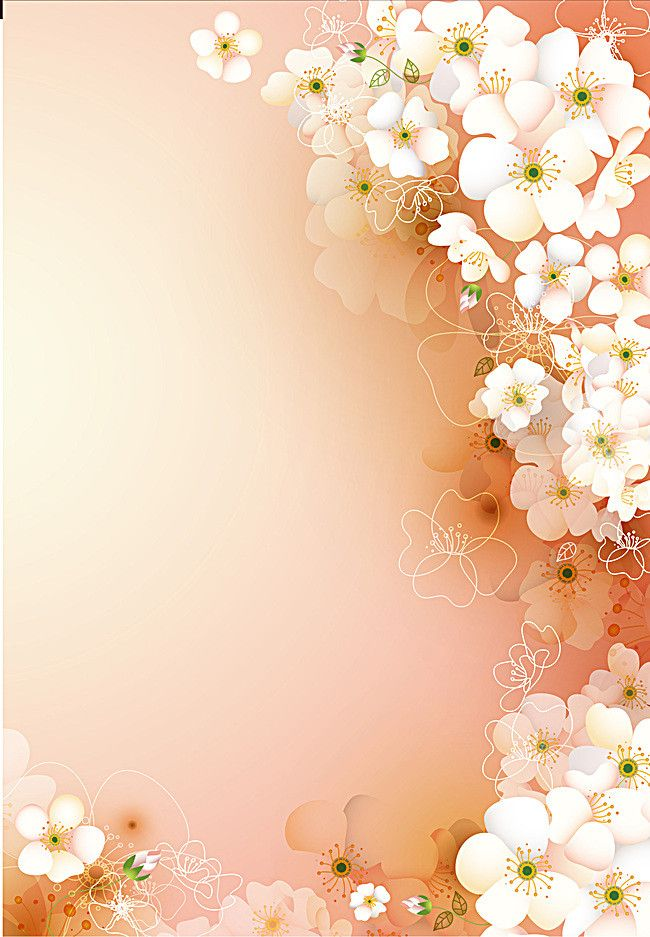 Orange Fantasy Flowers Background Flower Backgrounds Pink Flowers Wallpaper Flower Background Wallpaper Flower wallpapers full hd fantasy