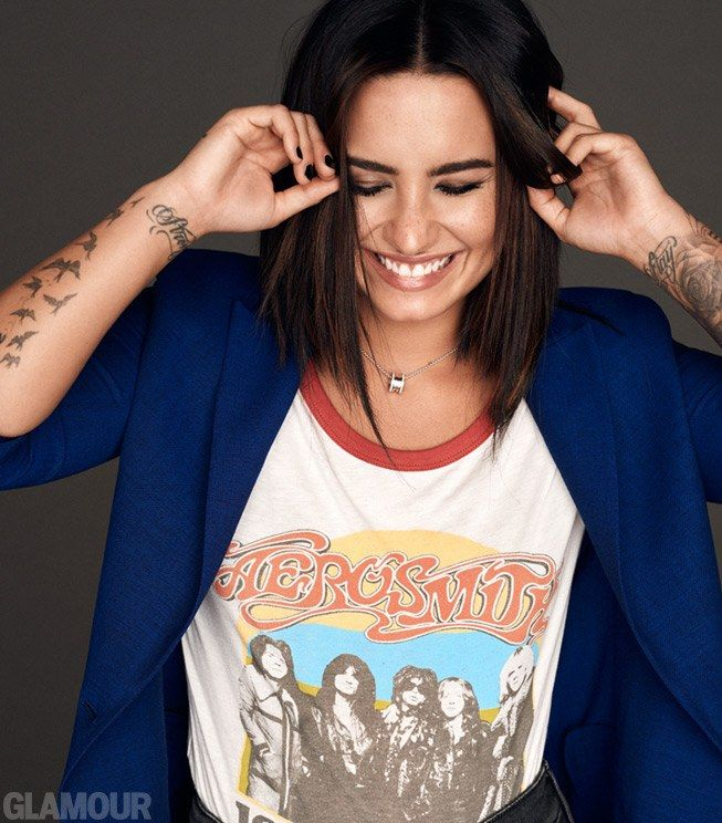 Demi Lovato for Glamour Magazine November issue