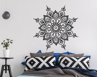 Mandala Mandala de la Calcomanía Calcomanía Yoga por PonyDecal