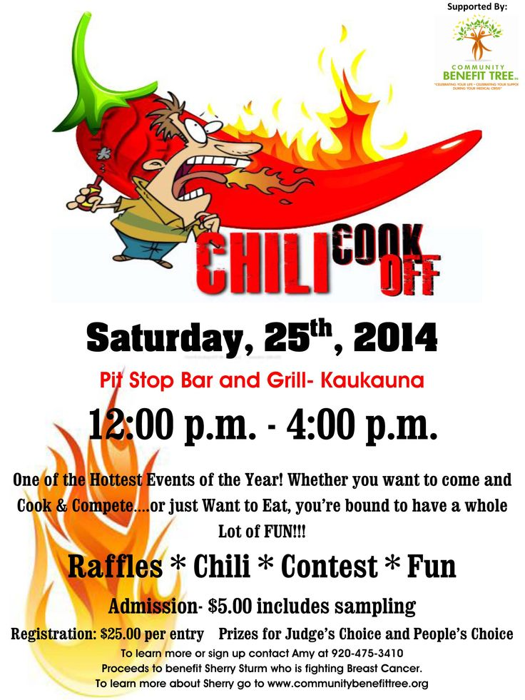 Chili cook off fundraiser google search chili cook off for Chili award certificate template