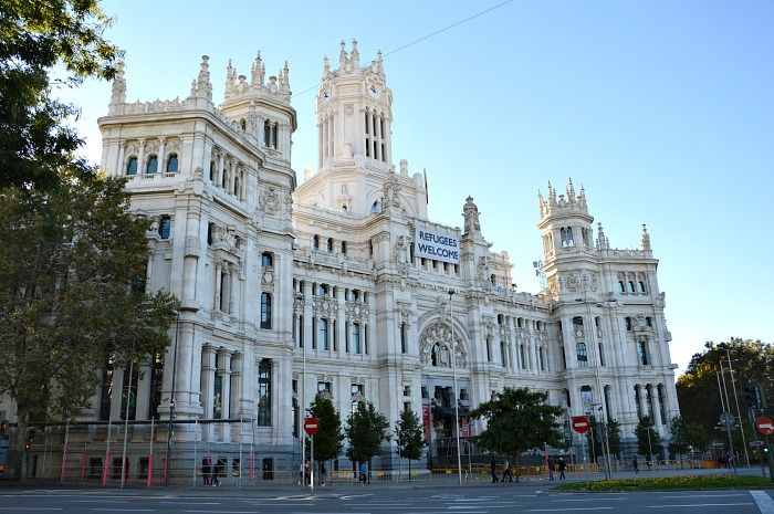 Il centro culturale Centro Centro Cibeles di Madrid