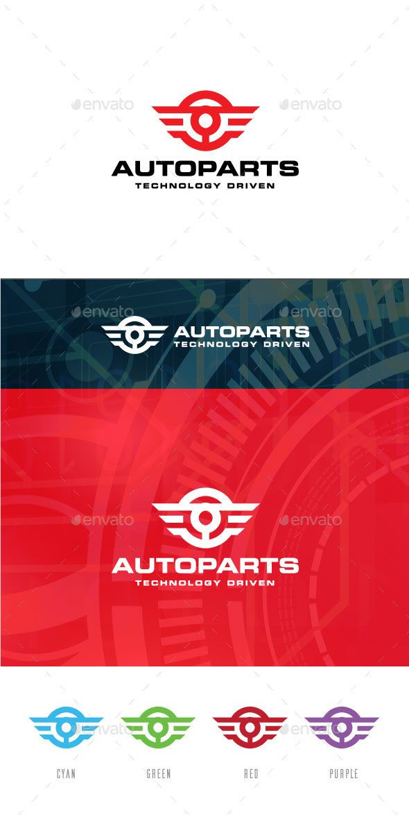 Automotive Logo Template by creativesole 100% vector -AI,EPS files -Resizable easy to edit the text and slogan Full Instruction and Font Name/Link are provided in README f