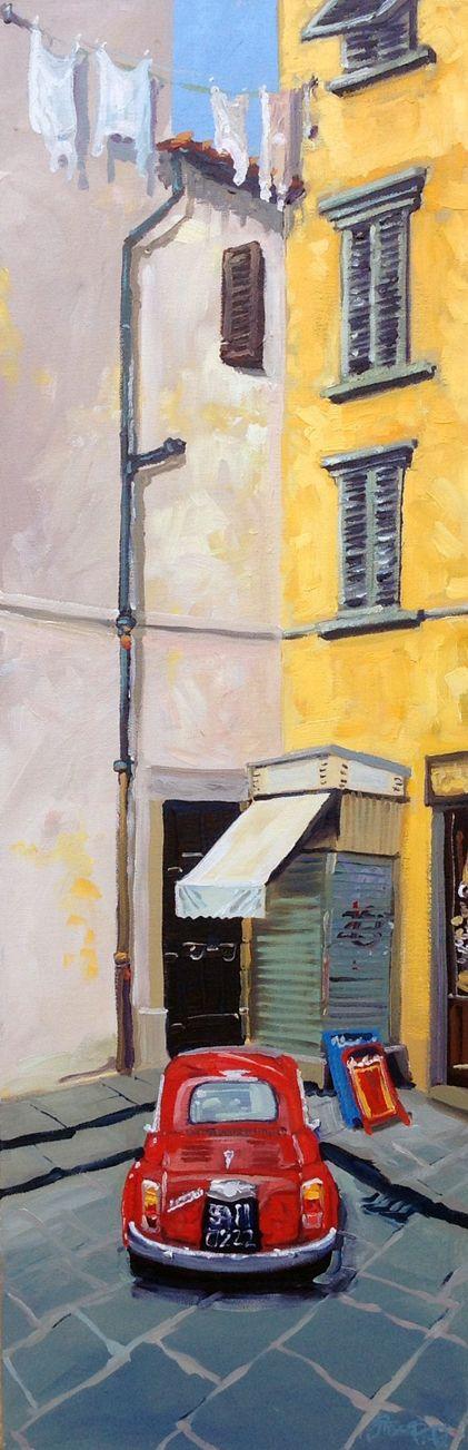 "The Art of Steve PP: ""Sundried Tomato"" - Oil painting in Italy"