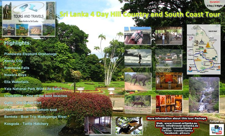 Visit the Hill Country and South Coast of Sri Lanka