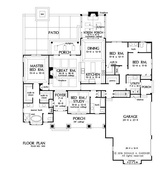 169 best House Plans I Like images on Pinterest   House floor ... - house building plans