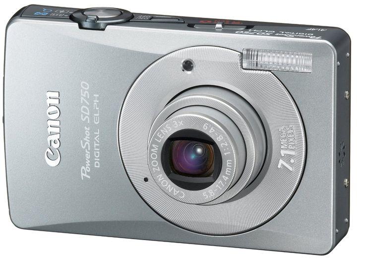 Canon Powershot Sd750 7 1mp Powershot Camera Digital