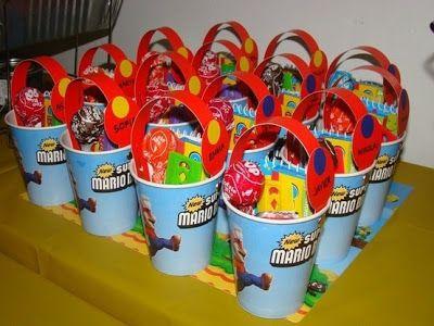 decoracin de fiestas de cumpleaos infantiles de mario bros