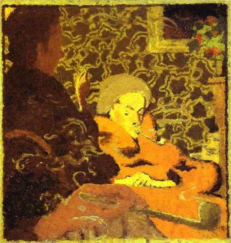 Пьер Боннар. «Интимность». 1891 г.