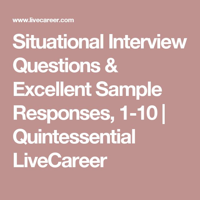 Best 25+ Situational interview questions ideas on Pinterest