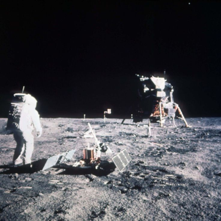 Apollo 11 Moon Landing Pictures: 45 Amazing Photos, 45 Years On