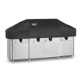 Weber Summit 91.1-In X 21.5-In Polyester Gas Grill Cover 7561