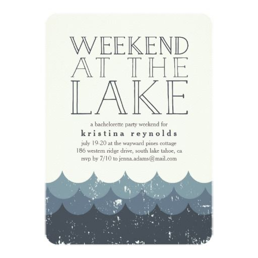 25 best ideas about lake party on pinterest lake party for Weekend get away ideas