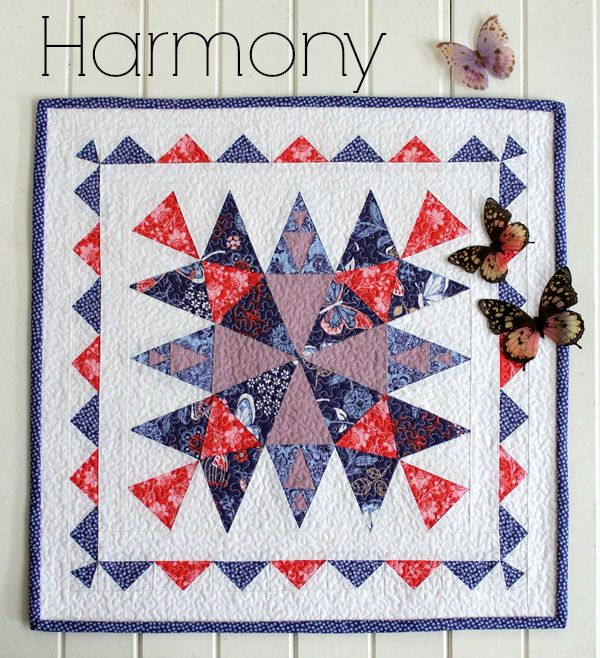 Threadbare Creations- Harmony Mini Quilt PDF Pattern