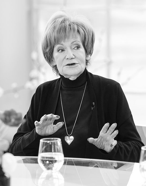 Maria Czubaszek (1939-2016) polish writer and humourist , songwriter , screenwriter ,  journalist