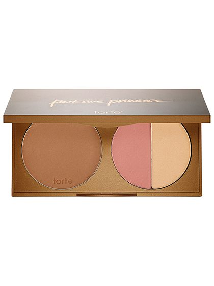 Tarte Park Ave Princess Contour Palette:  One of the biggest mistakes you can make when contouring is forgetting to apply blush. (Hello, Skeletor.) That's why this palette is great: It nestles a matte bronzer and highlighter next to a peachy-pink blush so you'll always remember the most important step.