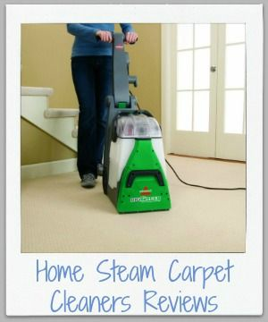Home carpet cleaner machine reviews {on Stain Removal 101}