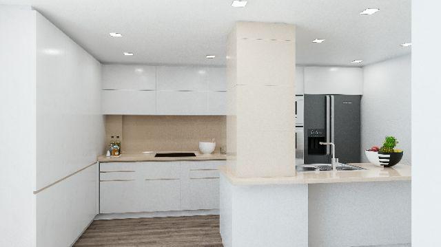 Casas moderno comedor cocina electrodomesticos - Casas de electrodomesticos ...
