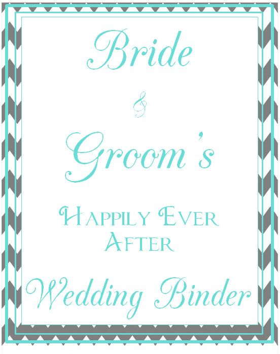 ultimate wedding planner personalized cover page wedding binder set