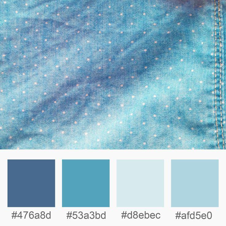 Colours Inspiration – Blue Jeans   | Varró Joanna Design | Colours Inspiration | Colors | Graphic Design | Inspiration | Graphic Designer | Working Mums Tips
