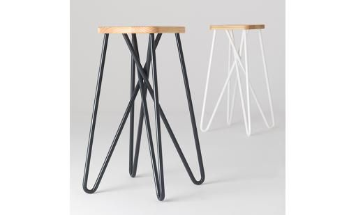 Tangle Stool by Clark Bardsley from Essenze