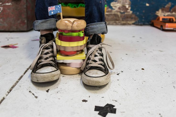 iconic toy stacking - burger – makemeiconic