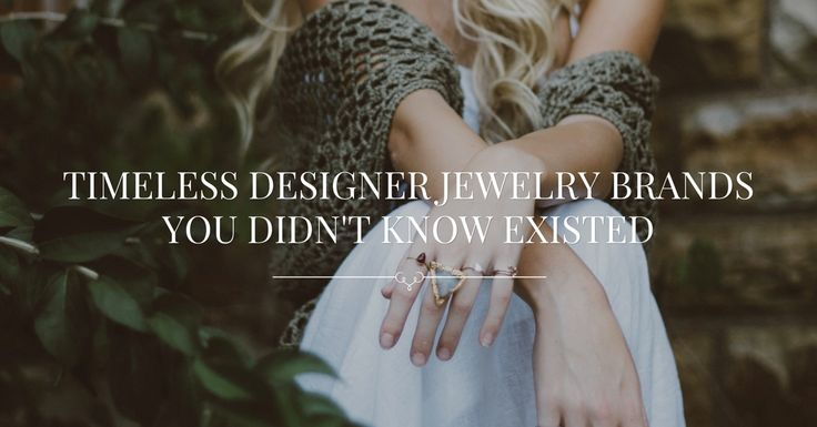 Timeless Designer Jewelry Brands You Didn't Know Existed | www.simplebeautifullife.net