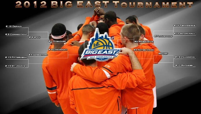 Syracuse Orange - 2012 Big East Tournament