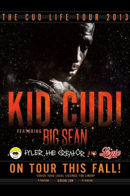 Kid Cudi - The Cud Life 2013 Tour Dates   News