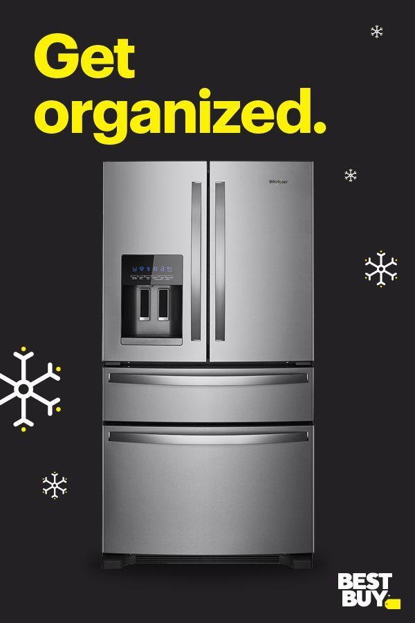 Get Black Friday Prices Now On A Whirlpool Refrigerator That Makes