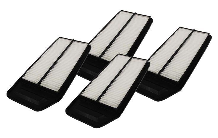 4 Rigid Panel Air Filters 1.57 x 5.92 x 13.5 - Fits Honda, Acura, & More. Part # A25503 & CA9564