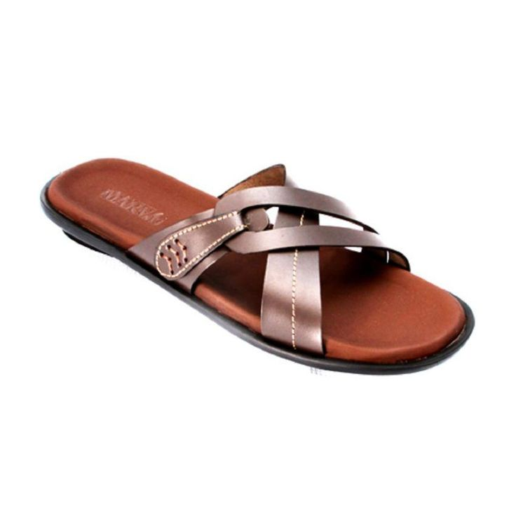 MarvG Cross Leather Slippers   Buy online   Jumia Nigeria