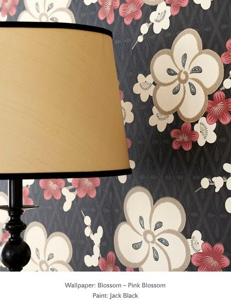 Blossom Wallpaper from the Oriental Collection