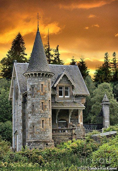 Fairytale Castle, Scotland