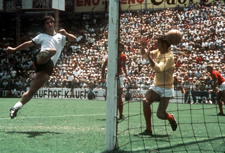 Enlgand 2 Germany 3. Mexico World Cup 1970.