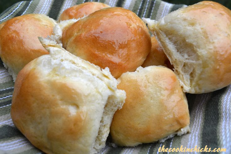 If you have ever been to Texas Roadhouse and had their rolls, these are quite similar