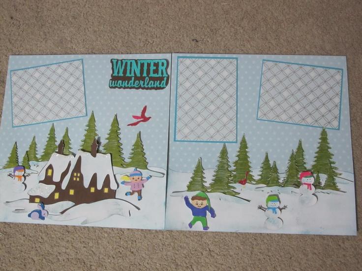 winter layoutScrapbook Ideas, Scrapbook Crafts, Scrapbooking Sketches, Scrapbooking Cards, Scrapbook Obsession, Scrapbook Christmas, Scrapbook Winter, Scrapbook Layout, Winter Scrapbook