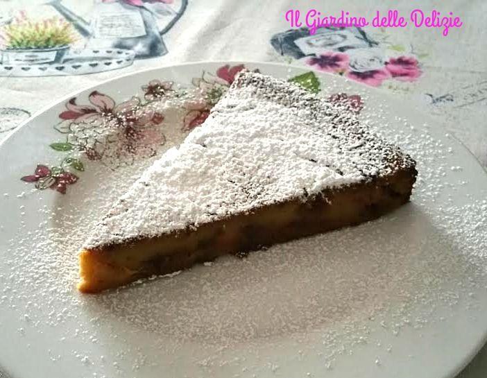 Torta+mele+con+farina+di+castagna