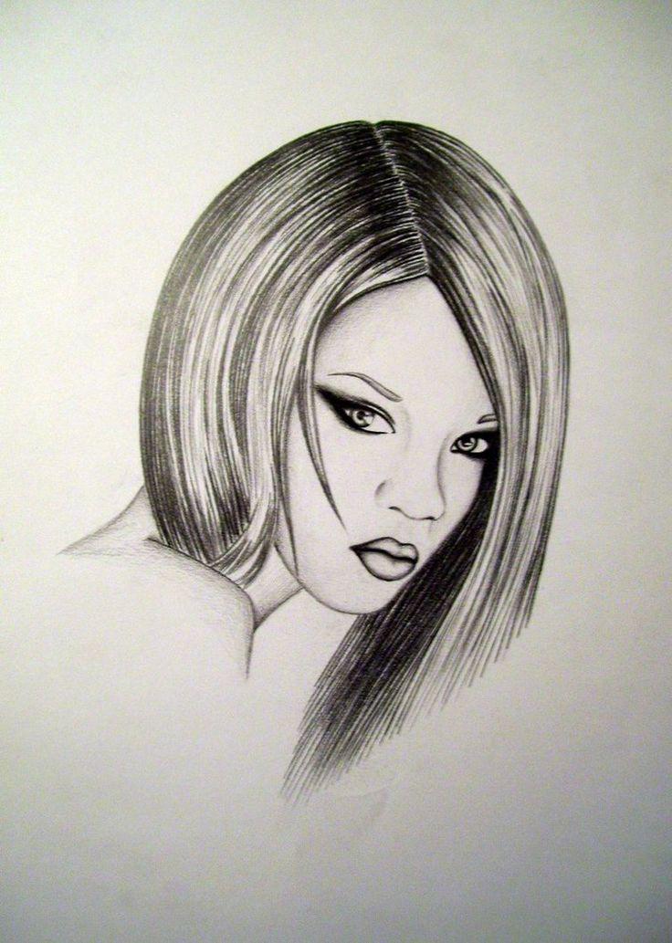 Rihanna by AquaticOcean on DeviantArt