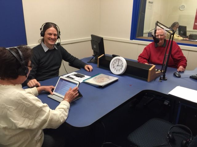 Our UN@70 speaking tour on Climate Change and post-2015 sustainable development agenda rolls into South Australia. Kevin Petrini Climate Change expert from UNDP Pacific talks about climate change and food with Lidia Moretti & Rosemary Penn Radio 5RPH Adelaide, May 9. #climage #action2015 #UN70