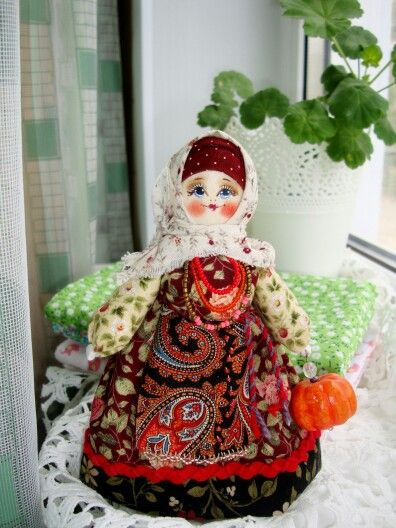 Русские куклы Риммы Волченко