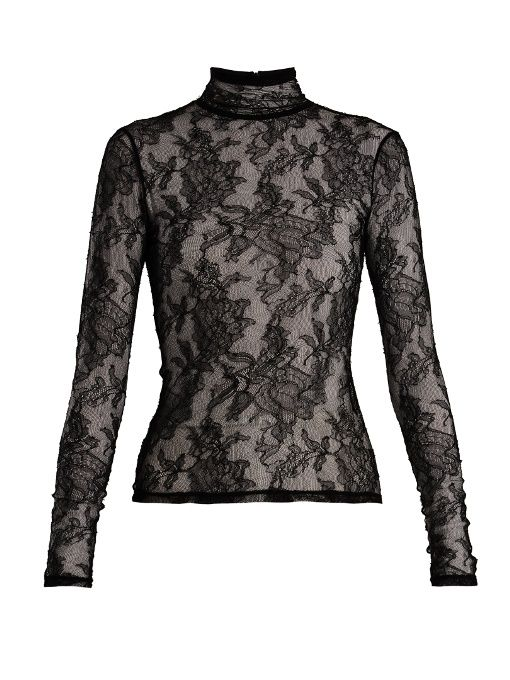 af45cad28 GUCCI . #gucci #cloth # | Gucci | Lace camisole top, High neck lace ...