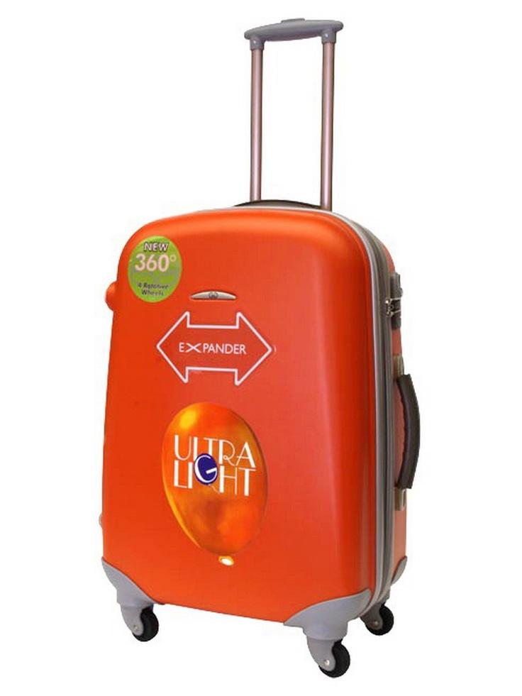 Valise trolley soute à roulettes - GILANCE  - Orange - ZT92L/63