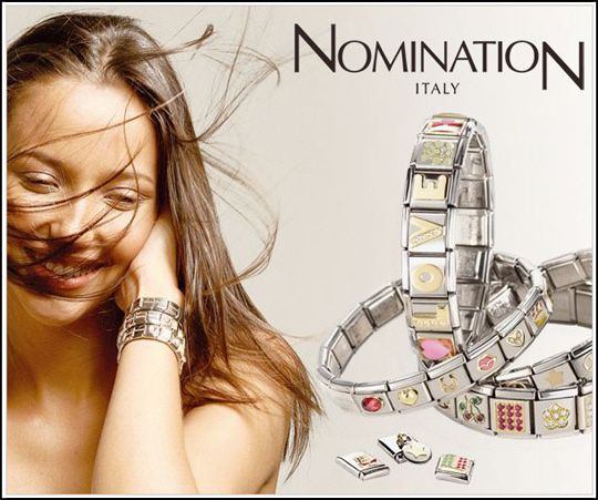 Nomination Bracelet... would love one... one day... :-)