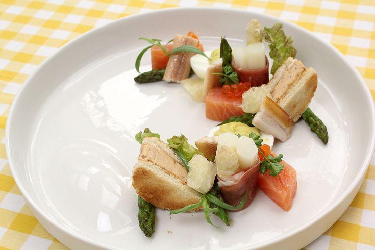 """Dit is een herwerking van de bekende """"salade folle"""". - met OER-fruit"""