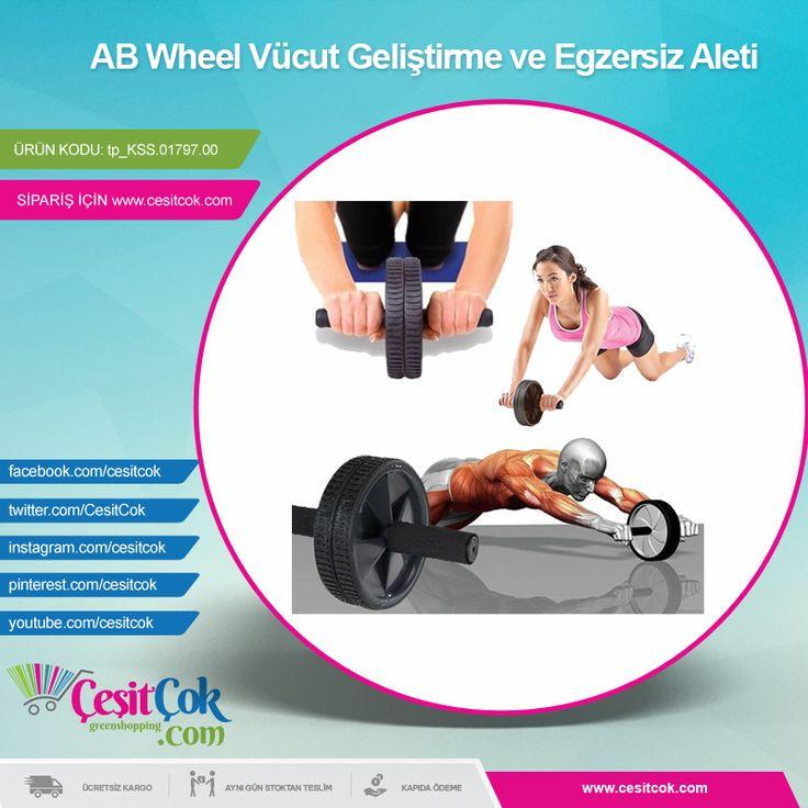 #AB #Wheel Vücut Geliştirme ve #Egzersiz Aleti >> http://goo.gl/B9nuKk