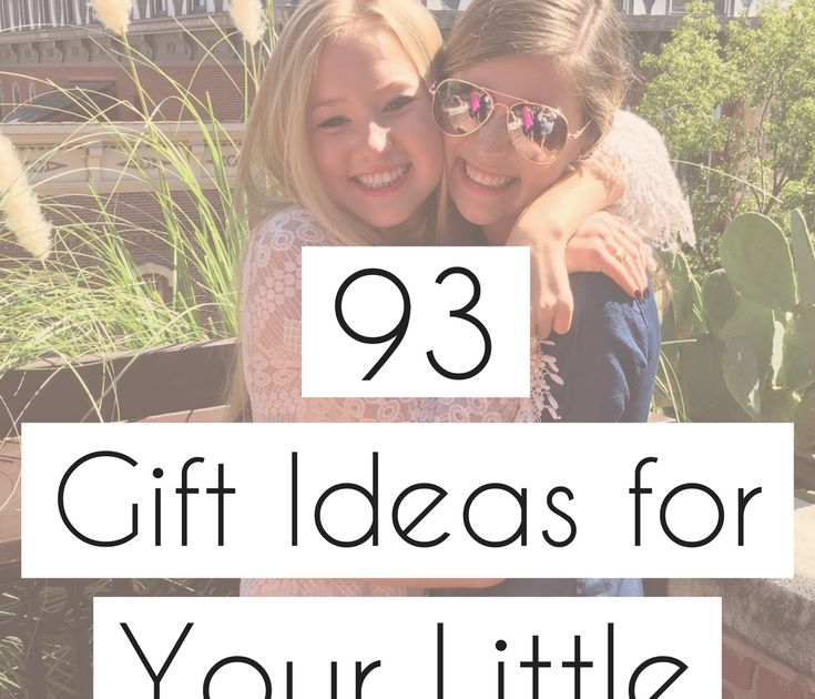 Stuck on what to get your sorority little? I've compiled a list of 93 things to get the ball rolling!