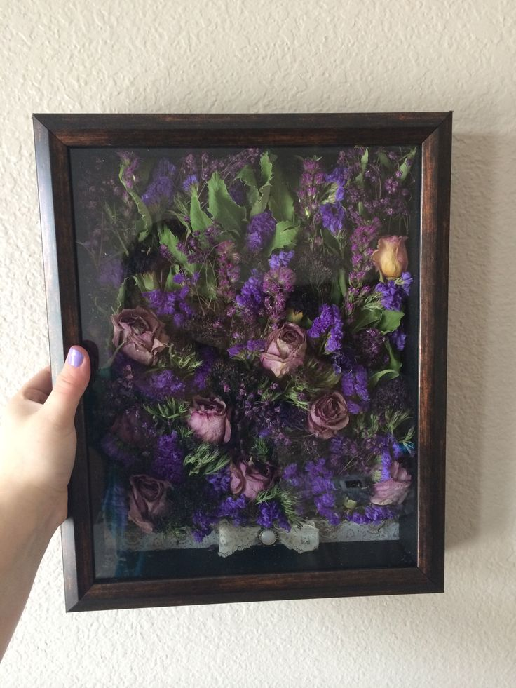 preserving your bouquet putting it in a shadow box after the wedding when the flowers have. Black Bedroom Furniture Sets. Home Design Ideas