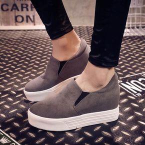 Nueva moda para mujer para en    línea barata de zapatos de plataforma de venta buen vendedor alta Superstar cuero plano material de
