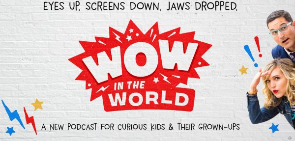 A superb science podcast design for primary age pupils. Each week a new topic is discussed.